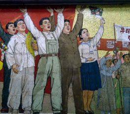 North Korea Propaganda Inside Pyongyang Metro