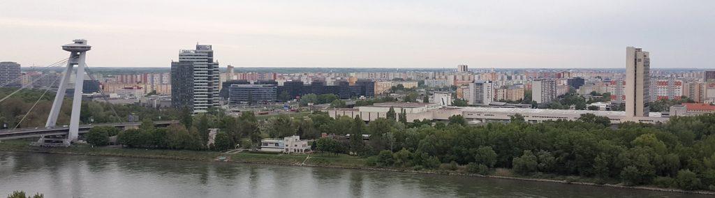 Ugly Communist Buildings in Bratislava, Slovakia