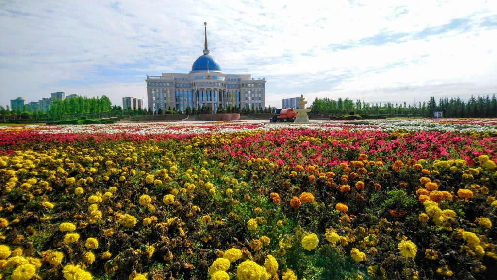 Strange and Weird Astana - Presidential Palace