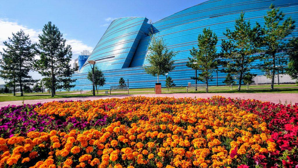 Weird and Strange Astana - Kazakhstan Central Concert Hall by Manfredi Nicoletti