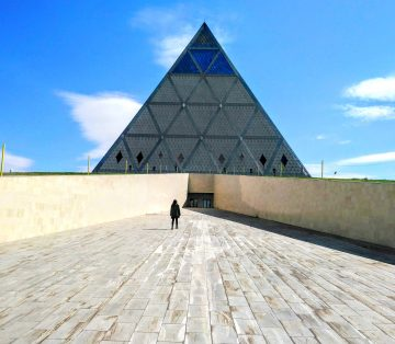 Strange and Weird Astana - Palace of Peace and Reconciliation - Pyramid Building Astana