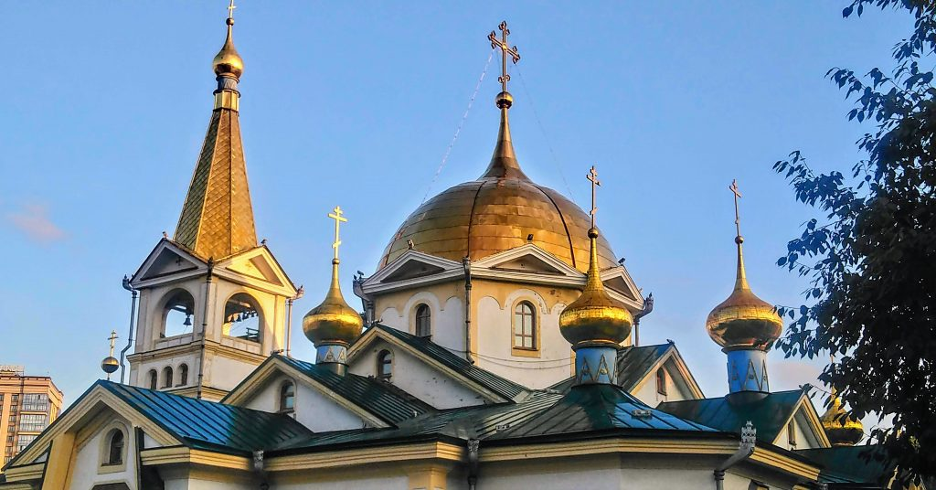 Ascension Cathedral Novosibirsk Things To DO