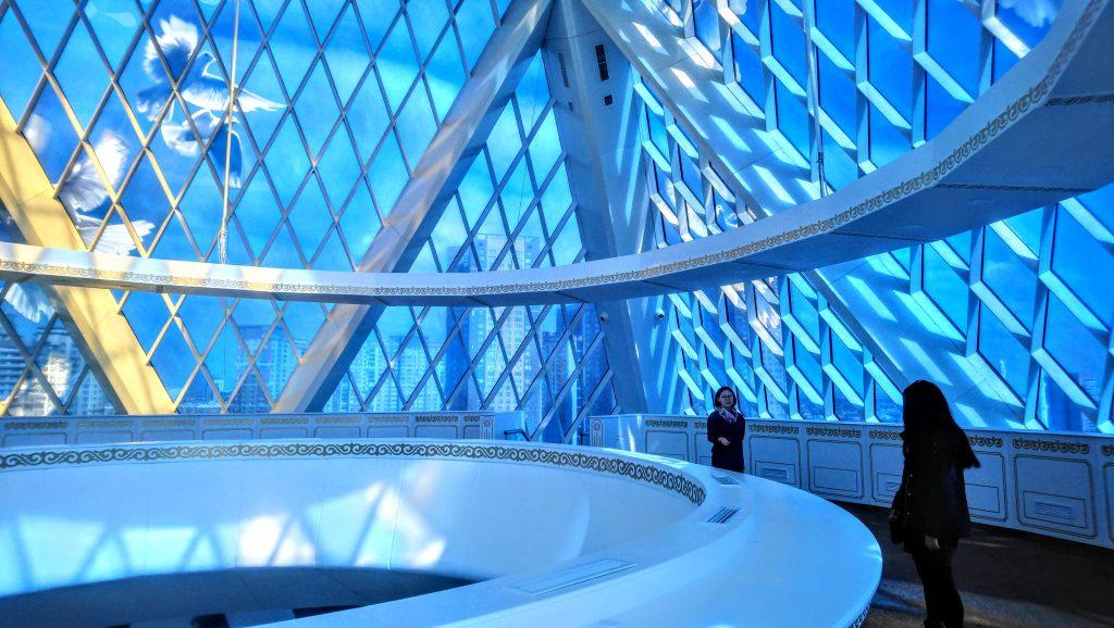 Strange and Weird Astana - Palace of Peace and Reconciliation - Pyramid Building Astana