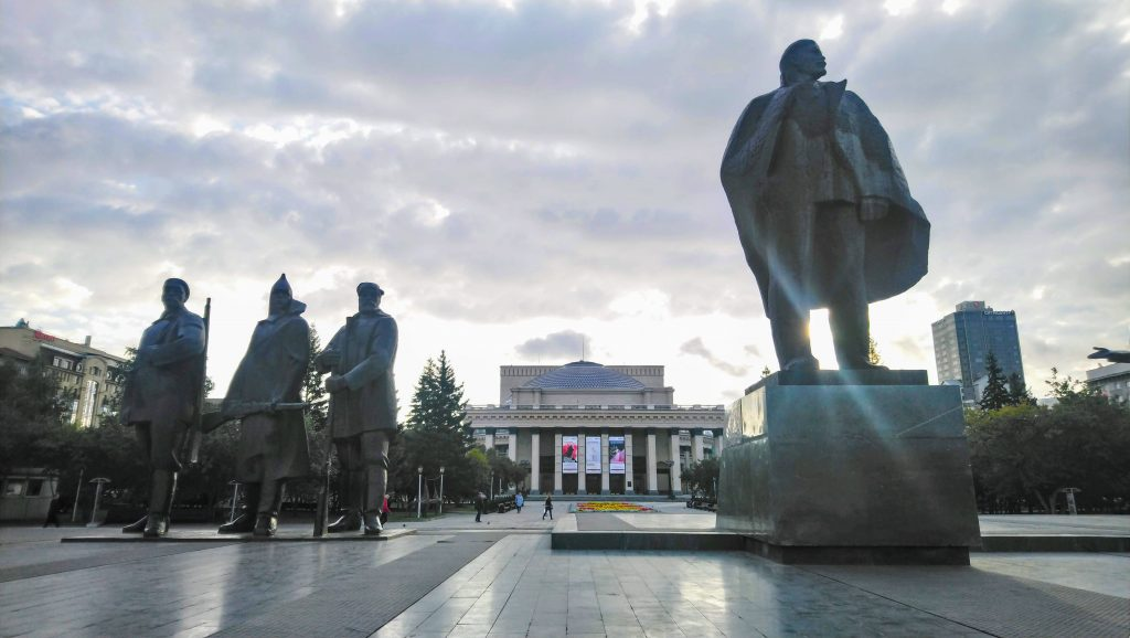Lenin Square - Things to do Novosibirsk