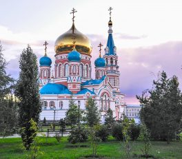 Assumption Cathedral Omsk Things to do Omsk