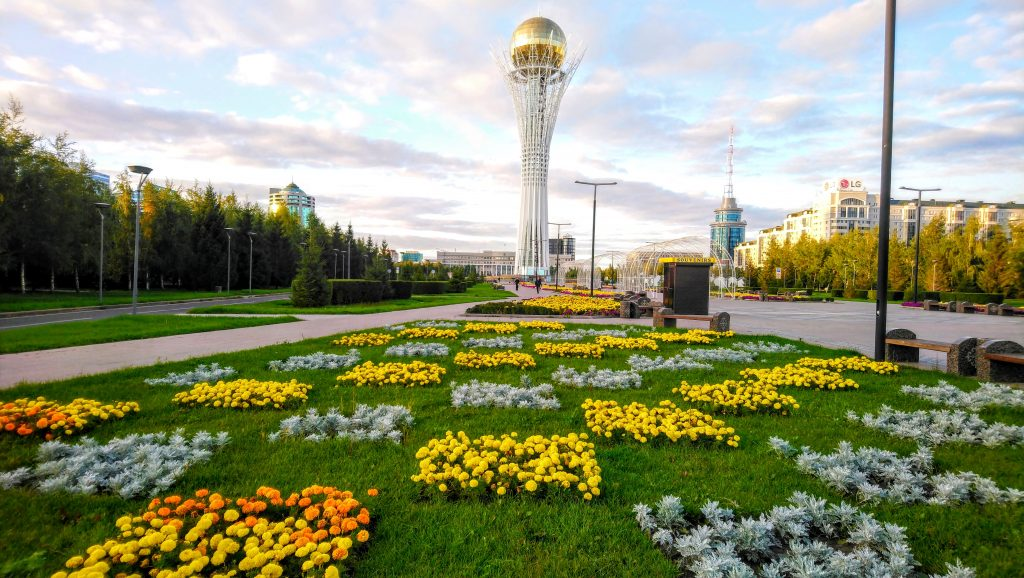 Strange and Weird Astana - The Bayterek