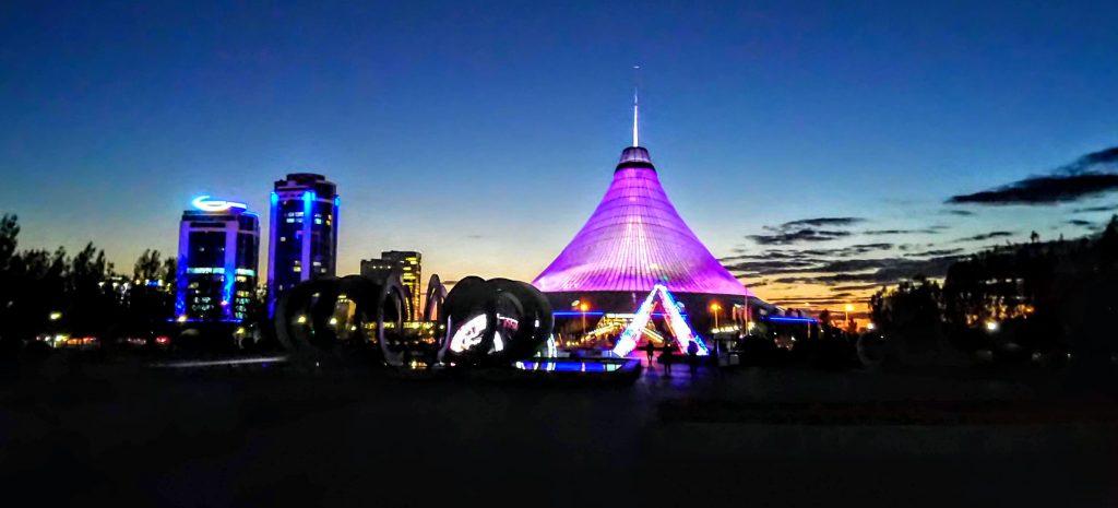 Tent Building Astana - Khan Shatyr Entertainment Center Astana