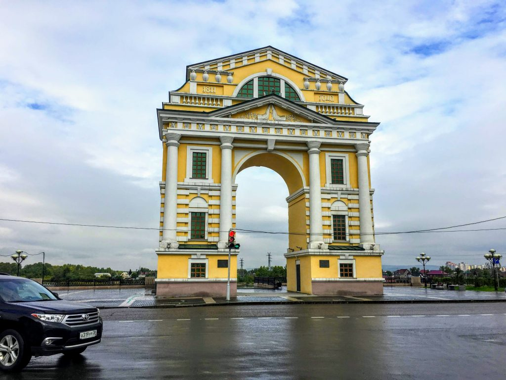 Moscow Triumphal Arch Things to Do Irkutsk Things to See