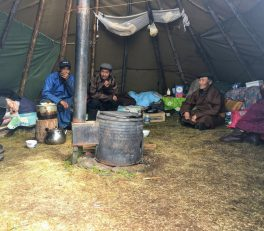 Taiga Tsaatan Dukha Tsagaan Nuur Reindeer People Mongolia