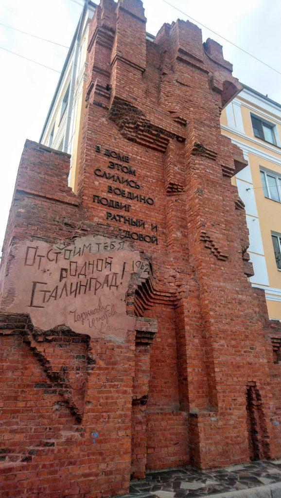 Pavlov's House, Things to do Volgograd