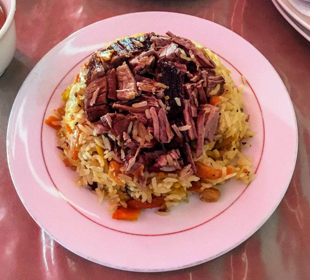 Plov, Food to eat Shymkent and Sayram